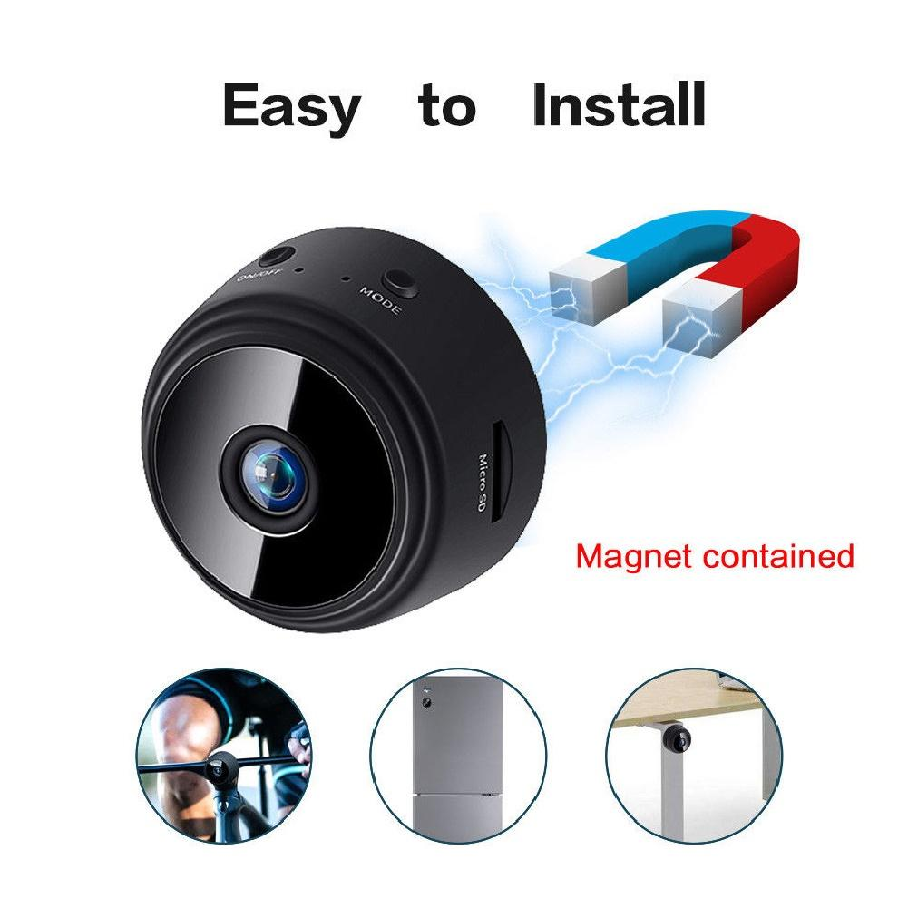 WiFi HD 1080P Home Security-Camera Night Vision Mini Wireless Surveillance Camera Remote Motion Detection Video Camera