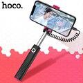 НОСО Универсальный mi ni селфи-стик проводной ручной монопод Выдвижная Портативный Selfiestick палка для селфи iPhone X 8 7 samsung S9 Xiaomi mi 8