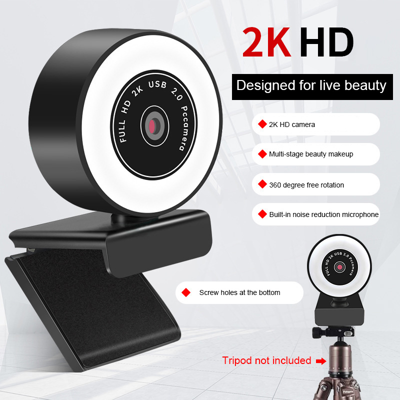 plug and play foco automatico hd luz de preenchimento webcam 03