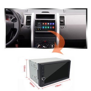 Image 2 - Eunavi Universal 2 din 7 Android 10 Car Radio Stereo multimedia Player 2din GPS Navigation 4G WIFI USB TDA7851 touch screen BT