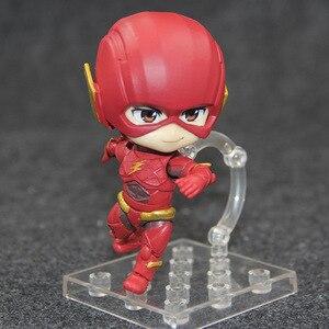 Аниме DC League справедливости 917 # Flash Hero Edition милая фигурка модели игрушки