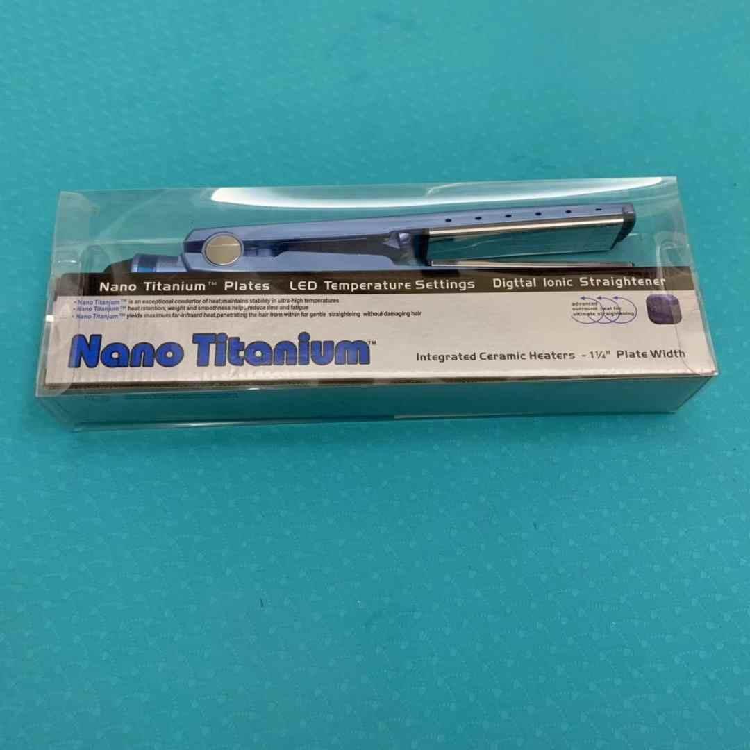 電気スプリント髪ストレートパーマデバイス Nanoceramic 損傷しないボリュームデュアル目的 1/4 実際