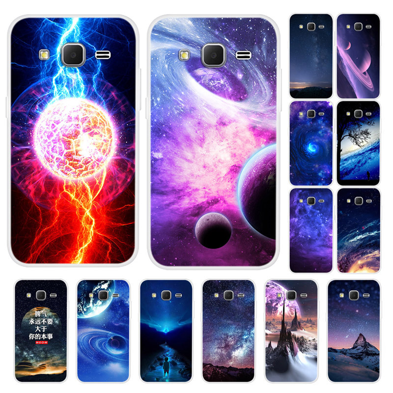 Starry <font><b>Case</b></font> For <font><b>Samsung</b></font> <font><b>Galaxy</b></font> <font><b>Core</b></font> <font><b>Prime</b></font> G360 G3606 G3608 G3609 G361F <font><b>G360H</b></font> G360F G361H Cover Silicone Soft TPU Protective Capa image