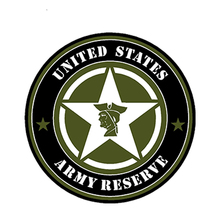 Car Sticker United States Army Reserve Star Soldier Automobiles Motorcycles Exterior Accssories PVC Decals,13cm*13cm