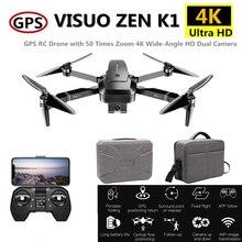 Visuo ZEN K1 RC GPS Drone 4K Quadrocopter with Camera Gesture Control Quadcopter  Flight 28mins Follow Me Dron VS F11 B4W SG906