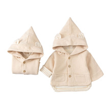Outerwear Jacket Baby Clothing Hooded-Coat Clothes-Style Toddler Girls Boys Winter Children