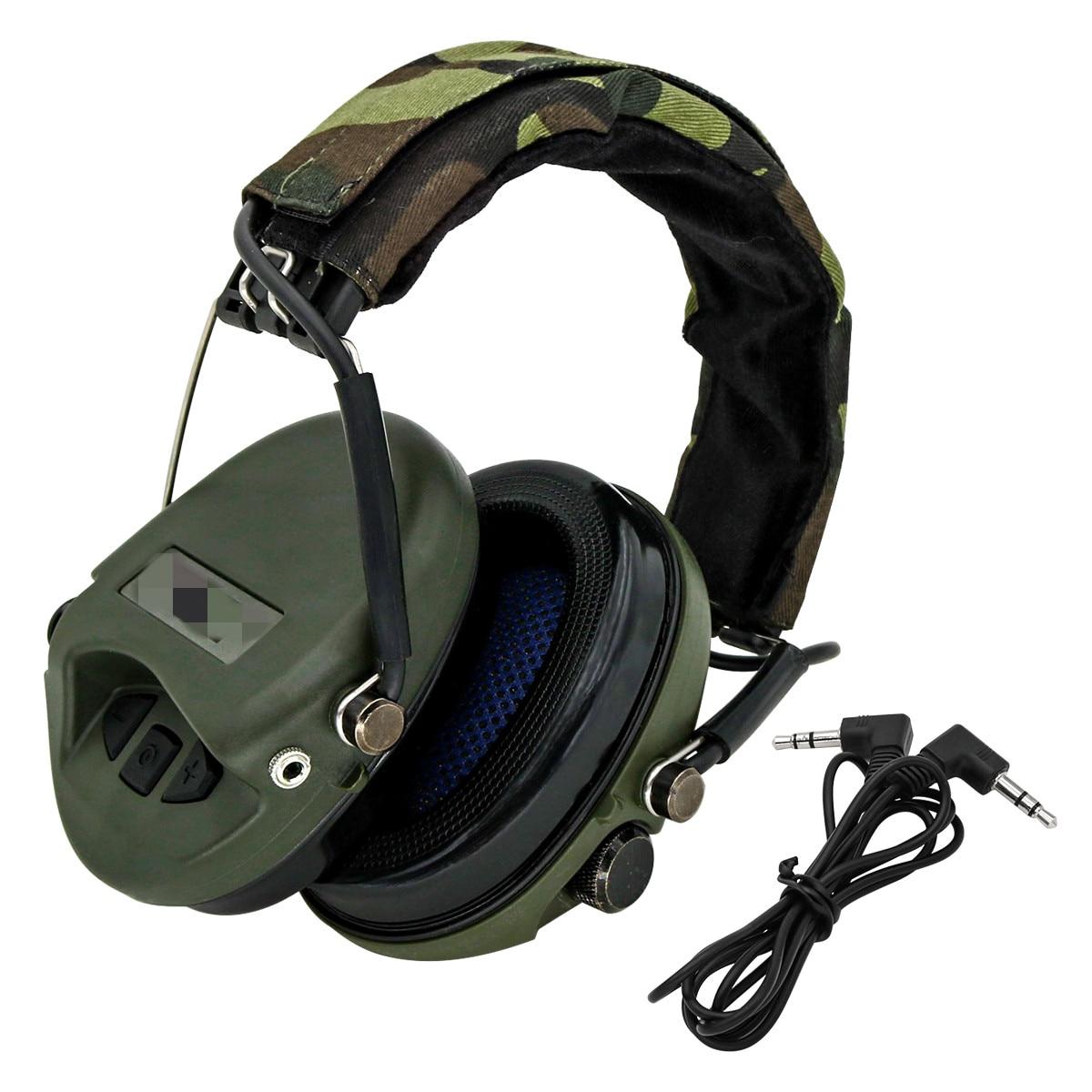 Tactical MSA Sordin Headphones Outdoor Hunting Military Shooting Softair Accessories Peltor Noise CancellingTactical Headphones