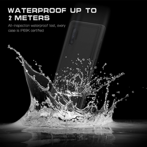 Image 5 - Underwater Real Waterproof Case For Samsung Note 10 Plus S10 S8 S9 Plus Diving Water Proof Stands Phone Case For Galaxy Note 8 9