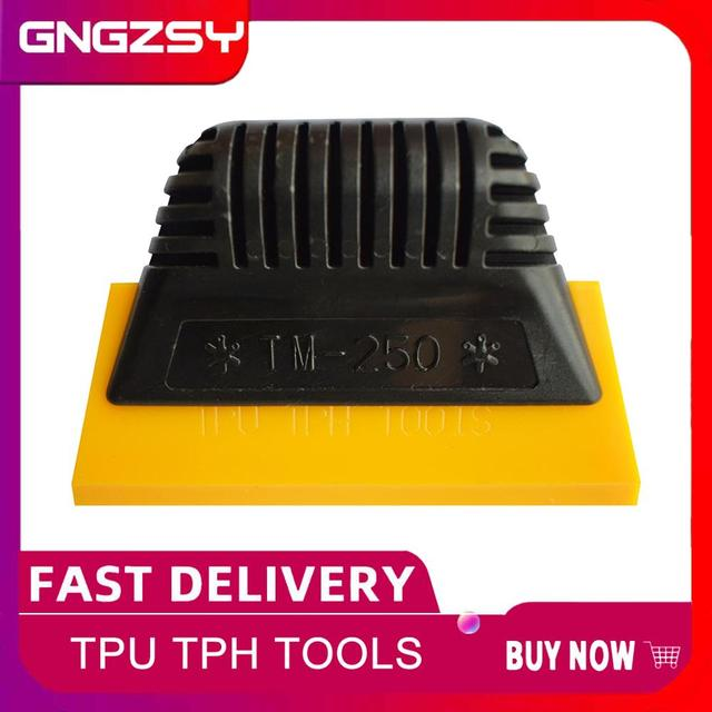 TPU TPH Rubber Squeegee Window Tint Tools Spacial Hand Scraper For Invisible Car Clothing Film Auto Transparent Film Install B01