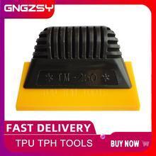 TPU TPH wałek gumowy narzędzia do zaciemniania okien Spacial skrobak ręczny do niewidocznej odzieży samochodowej Film Auto folia przezroczysta instalacja B01