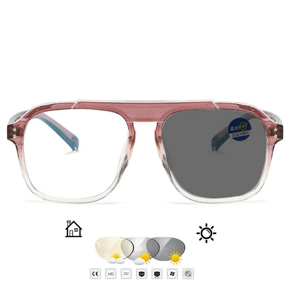 Солнцезащитные фотохромные очки для близорукости женские оптические студенческие очки для близорукости розовые синие очки по рецепту FML
