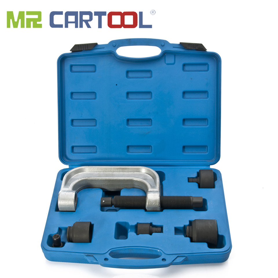 MR CARTOOL 5Pcs Ball Joint Press Installation And Removal Tool Set For Mercedes Benz W220 W211 W230 Ball Joint Car Repair Tool