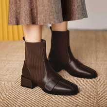 Ботинки martin женские осенние и зимние новые тонкие ботинки
