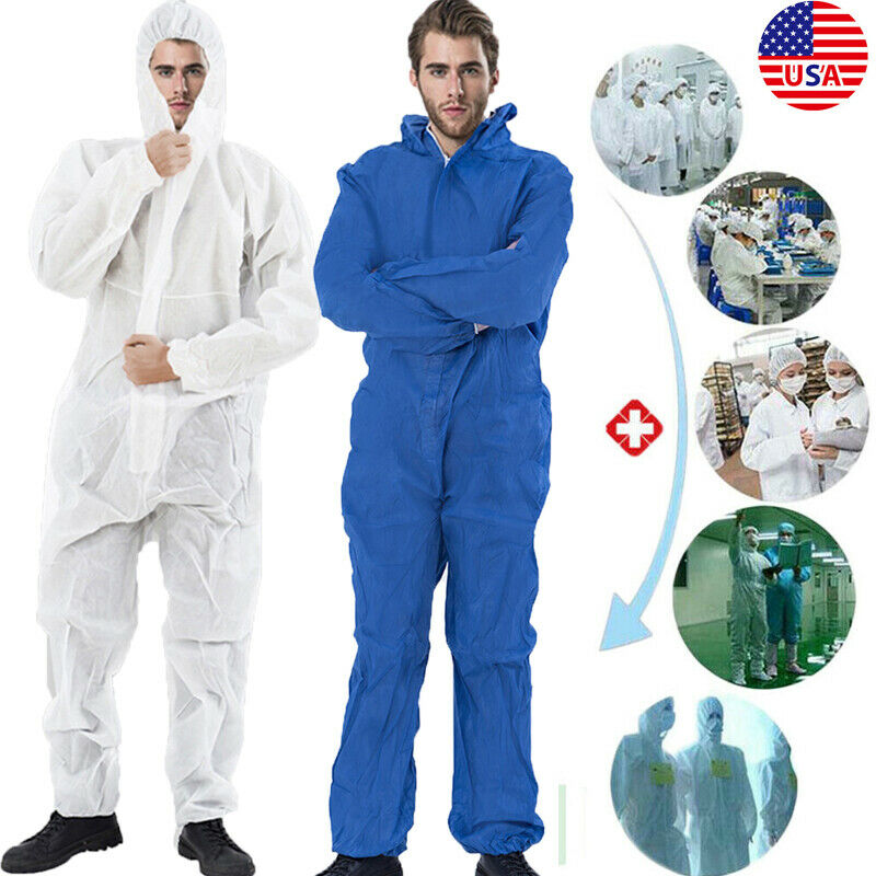 Isolation Protective Clothing Reusable Protective Overall Suit Splashproof Lab Hospital Protection Isolation Clothing