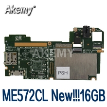Mainboard 7m-E572cl Asus New for Memo-Pad 16GB 2G LTE Tablet 90NK00R0-R00010 Akemy