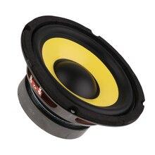 6.5   50W Car Audio Stereo Horn Subwoofer Bass HIFI Speaker 4 Ohm Mid Range For Auto Truck RV Boat Yacht Woofer Loudspeaker