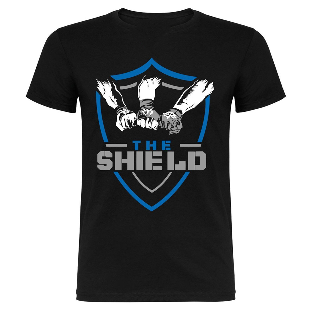The Shield Dean Ambrose Seth Rollins Roman Reigns T-Shirt Me…