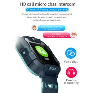 Image 3 - AllCall W58 Kids Smart Watch GPS Tracker 4G SIM Card Video Call with Light Camera SOS IP67 Waterproof Smartwatch For Girls Boys