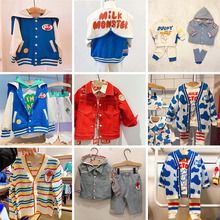 EnkeliBB Korean Baby 2020 Spring Summer Girl Jacket Fashion Brand Toddler Boys