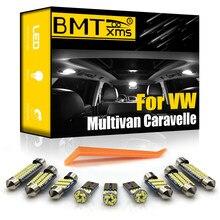 BMTxms para Volkswagen VW Multivan Caravelle MK5 MK6 T5 T6 2003-2018 vehículo LED Interior suelo Kit de luz Canbus