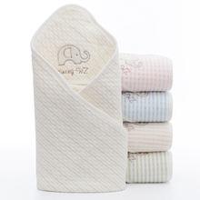 Хлопковое детское одеяло супермягкий квадратный конверт из муслина