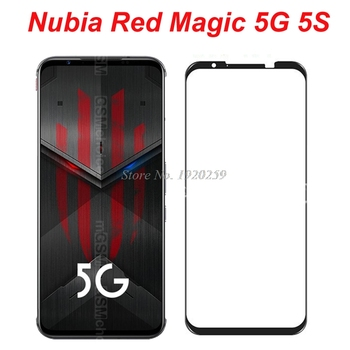 Перейти на Алиэкспресс и купить ZTE Red Magic 5S NX659J качественное Защитное прозрачное стекло для смартфона Nubia Red Magic 5G Защитная стеклянная пленка