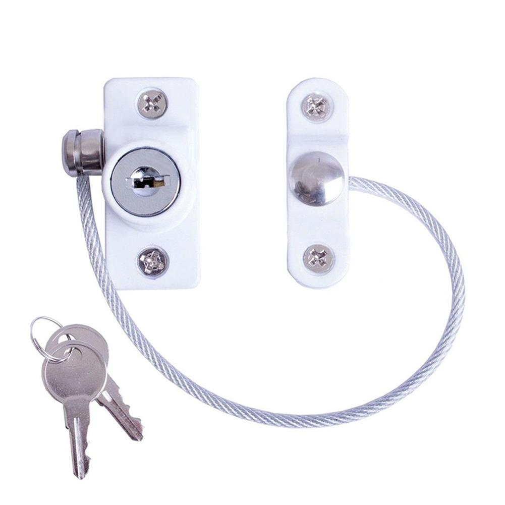 Door And Window Lock Child Safety Lock Limit Lock Prevent Children From Falling Through Windows Zinc Alloy Easy Installation