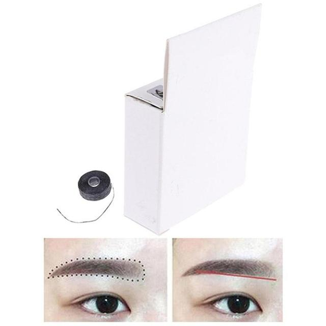 Mapping pre-ink string for Microblading eyebow Dyeing Liners Thread Semi Permanent Positioning Eyebrow Make Up Measuring Tool 1