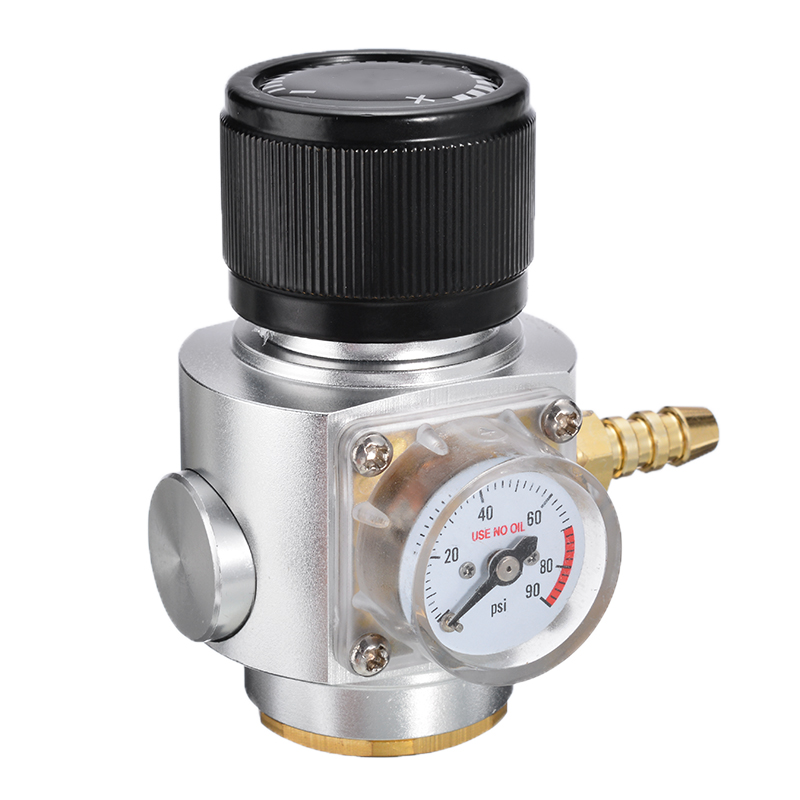 New CO2 Gas Regulator CO2 Gas Regulator Gas Line Corny Cornelius Keg Charger Ball Lock For Sodastream Bottle with Thread T 21x 4 in Other Bar Accessories from Home Garden