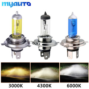 Image 1 - Car Light H4 H7 Auto Halogen Lamps Bulb Fog Lights 100W 3000K 4300K 6000K 12V Motercycle Car Halogen Bulb Ampoule Voiture