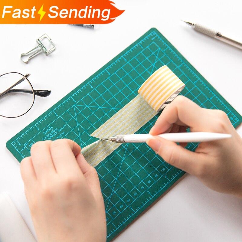 JIANWU Manual Model Cutting Pad DIY Multipurpose Engraving Edition Paper Cutting Rail Cutting Tool