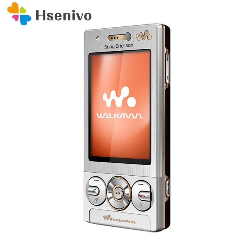 W705 Original Unlocked Sony Ericsson W705 3G WIFI FM Radio Bluetooth GSM Refurbished Slider Cellphone Mobile Phone Free shipping