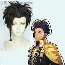 Game Fire Emblem: ThreeHouses Claude von Regan Cosplay Wig Fancy Battle Boys Cosplay Black Short Wig + Free Wig Cap - DISCOUNT ITEM  29% OFF Novelty & Special Use