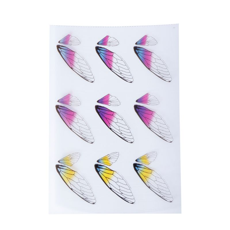 Filling Material Butterfly DIY Epoxy Resin Crafts Filler Jewelry Making Handmade 3D Colorful Insect Dragonfly Decoration Creativ