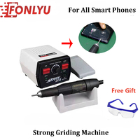 Electric Drill Grinding Machine Front Glass Separator Grinder For IPhone Samsung Edge Flat LCD Screen Separating Repair Tools