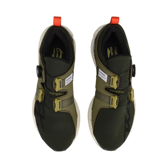 (Break Code)Li-Ning Men CRAZYRUNX Cushion Running Shoes Wearable Anti-Slippery LiNing Breathable Sport Shoes Sneakers ARHP135 5