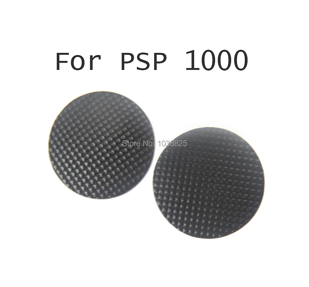 2pcs/lot Black Analog Joystick Stick Cap Cover Button For PSP 1000 PSP1000