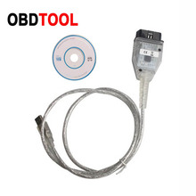 New KM TOOL Via OBD2 16PIN KM Reset Device Mileage Adjustment Cable for Mazda Car after 2005   2015 year with CAN BUS system