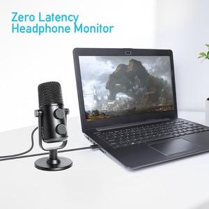Image 3 - ماونو AU 902 USB مكثف ميكروفون القلب المشتعلة mikrofon بودكاست استوديو هيئة التصنيع العسكري تسجيل المعادن ميكروفون ليوتيوب سكايب