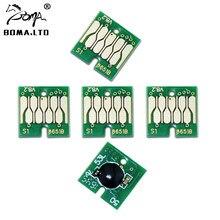 BOMA.LTD – puce de cartouche d'encre T8651, pour EPSON WF-M5690 M5190 M5191 M5193 M5693