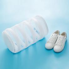 1 sztuk wyściełane buty organizator buty do prania torby worek do prania buty mycie torba do suszenia prania worek z siatki do prania przenośny worki na pranie tanie tanio Nowoczesne Poliester laundry storage bags laundry storage basket toy laundry storage bag