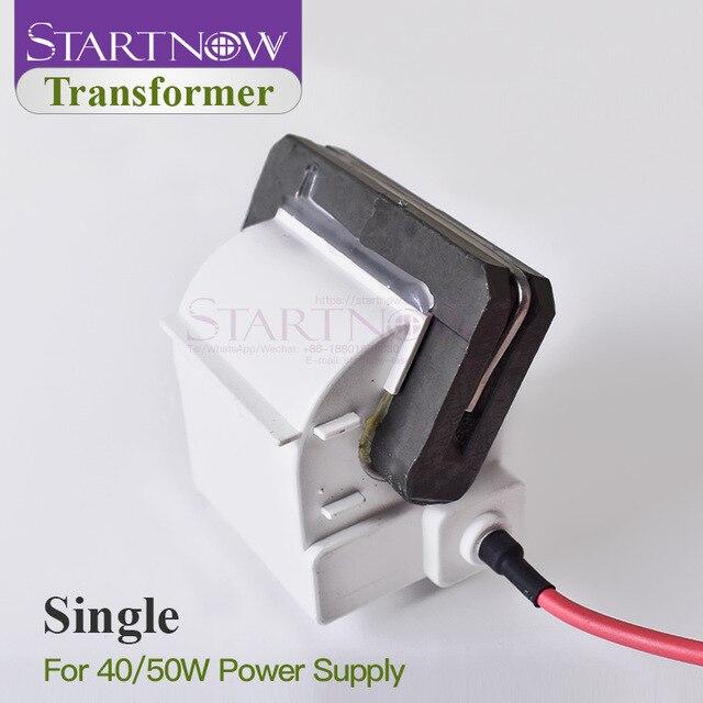 Yüksek gerilim Flyback trafo ateşleme bobini için 30W 40W 45W 50W CO2 lazer güç kaynağı gravür kesme makinesi parçaları