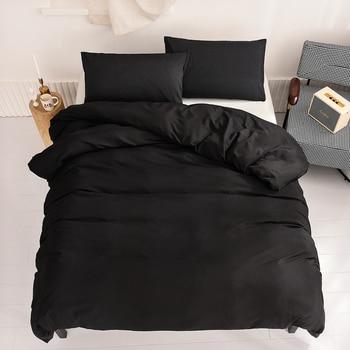 Pure Bedding Sets Black