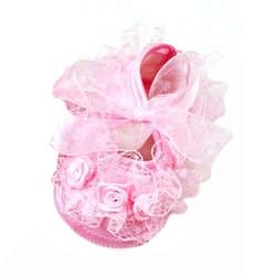 Детские Нескользящие туфли; кружевные туфли; 2 цвета; обувь для первых прогулок; платье принцессы для девочек; сезон весна; # E