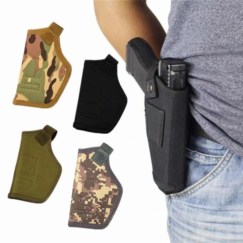 1PCs Tactical Compact Subcompact Pistool Holster Taille Case Gun Bag Outdoor CS Veld Onzichtbare Tactical Hunting Accessoires