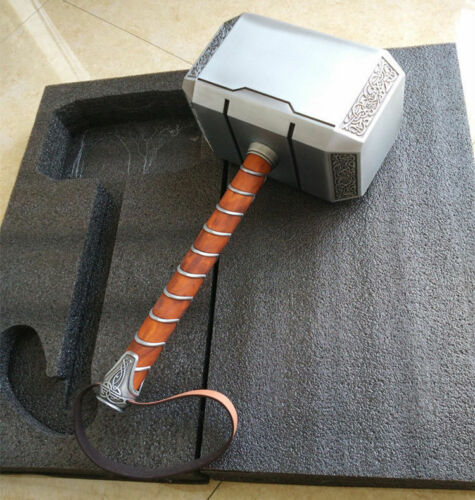 CATTOYS Full Metal 1:1 The Avengers Thor Hammer Replica Props Mjolnir Gifts With Paper Box