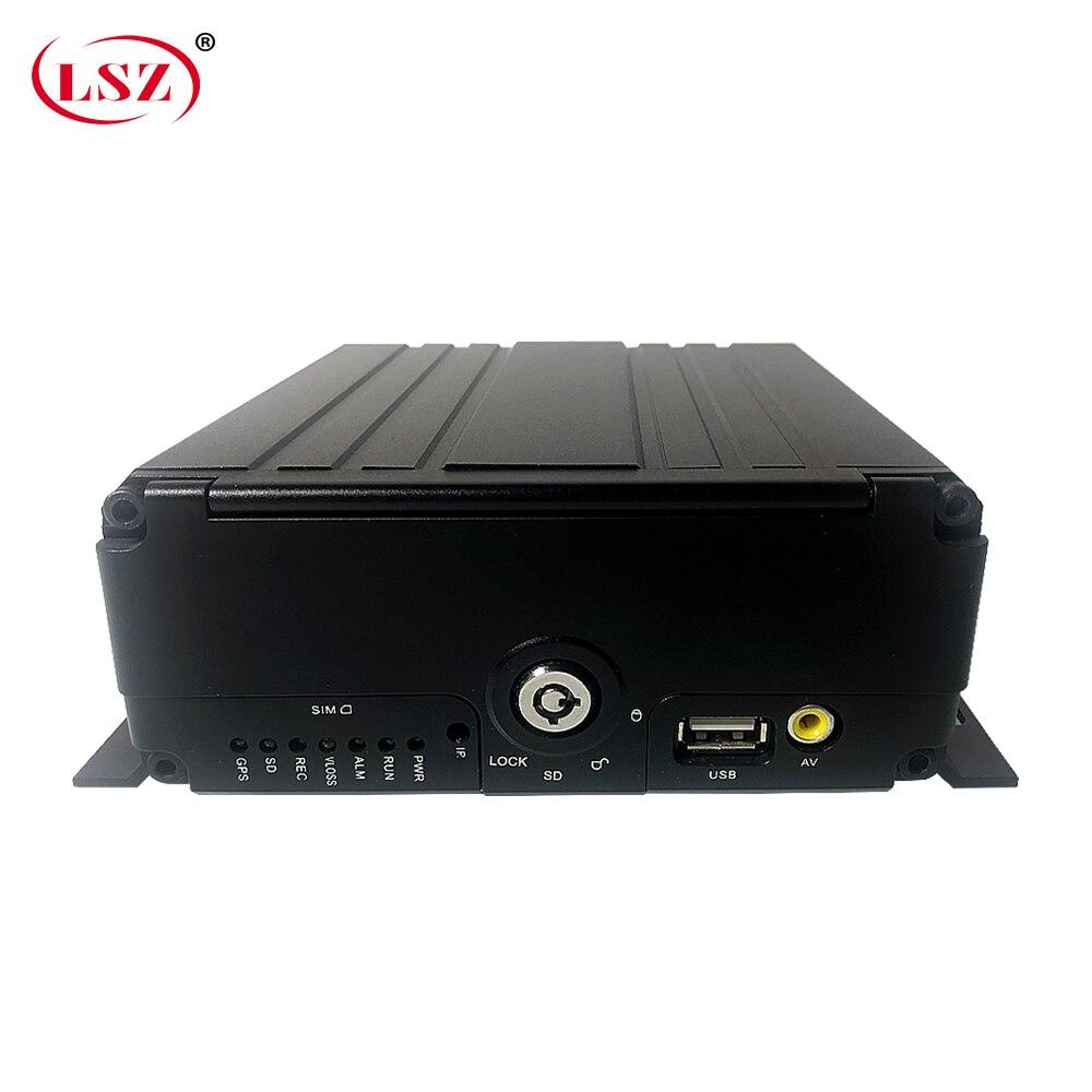 LSZ Source factory Truck Mdvr for School Bus Mobile DVR 4ch Taxi Car DVR 4G GPS PAL / NTSC|Surveillance Video Recorder|   - title=