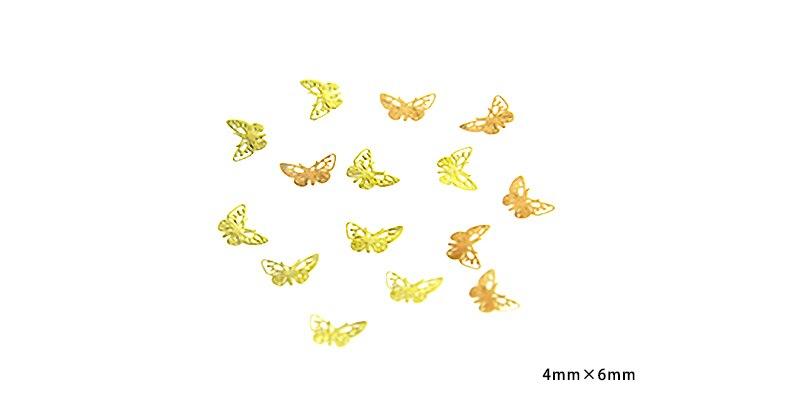 1000 шт/лот гвозди для дизайна ногтей круглые/треугольные/квадратные/полые/металлические