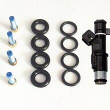 4 комплекта в партии ремонтные наборы деталей топливной форсунки для peugeot 206 307 406 407 607 806 807 2,0/16 V 1984E2(AY-RK901