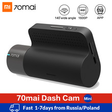 Xiaomi 70mai Mini Smart Dash Cam WiFi Mobil DVR Dash Kamera 1600P HD Malam Visi G-Sensor Aplikasi 70 Mai Dashcam Auto Video Recorder(China)